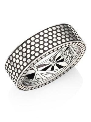 John Hardy Dot Sterling Silver Cuff Bracelet