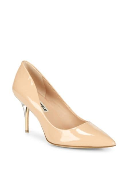 Metallic Slip On Pumps by Karl Lagerfeld Paris