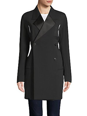 Long-Line Suiting Jacket