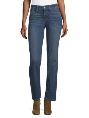 NOT YOUR DAUGHTER'S JEANS Marilyn Straight-Leg Jeans in Oak Hill