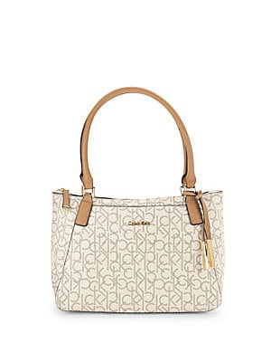 Monogram Satchel