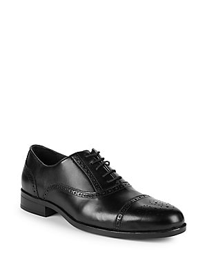 Saks Fifth Avenue Classic Leather Oxfords
