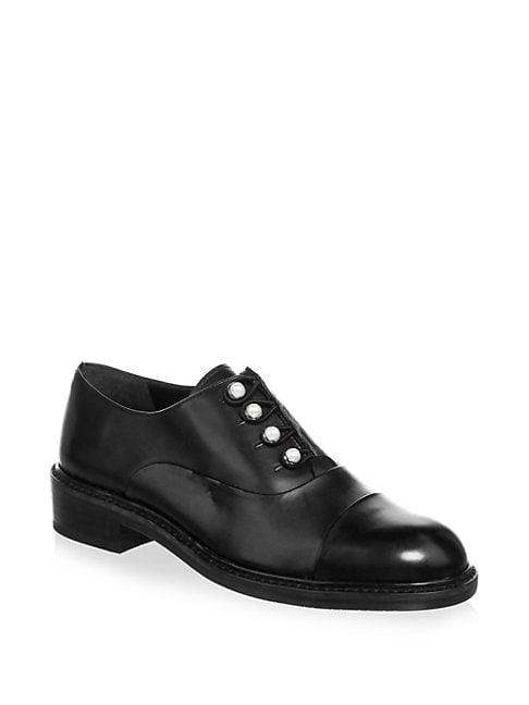 Mrspat Brando Leather Oxfords