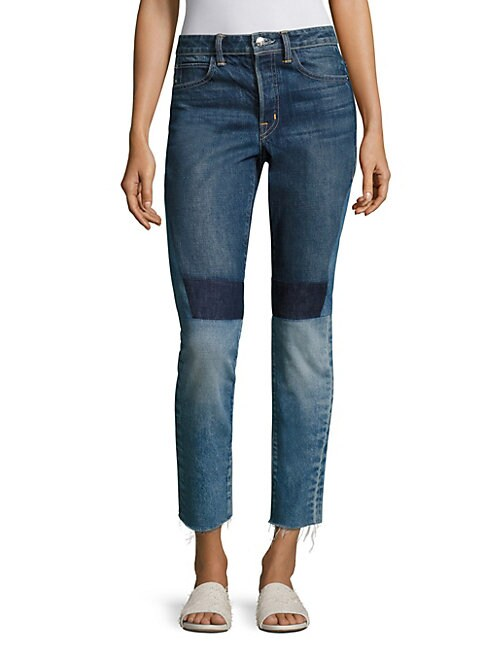Patchwork Highrise Jeans