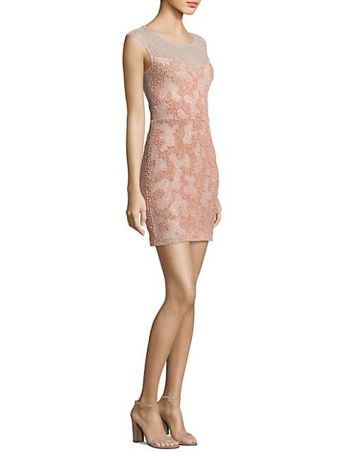 Montclair Beaded Sheath Dress