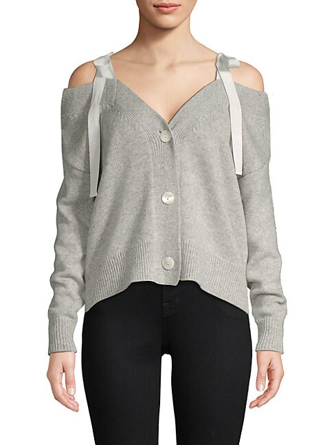 Dash Cold-Shoulder Cardigan