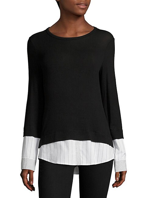 Elizabeth III Stripe Sweater