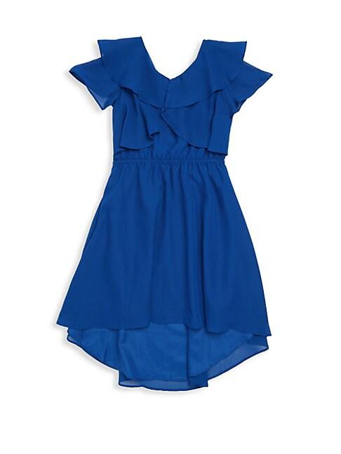 Girl's Chiffon Dress