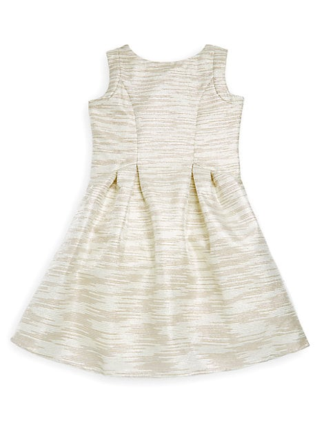 Little Girl's Sleeveless Striped Dress