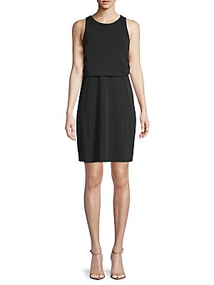 Knee Length Off The Shoulder Sheath Dress by Aidan By Aidan Mattox