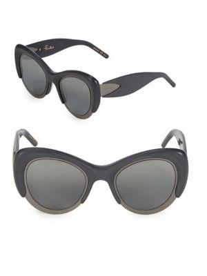 Pomellato 48MM Cat-Eye Sunglasses