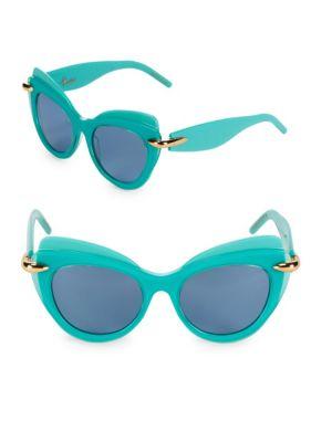 Pomellato 51MM Cat-Eye Sunglasses