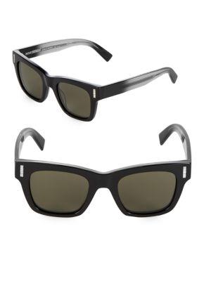 Boucheron Boucheron 49MM Square Sunglasses