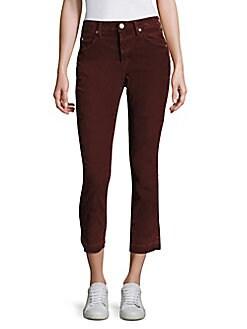 AMO - Mid-Rise Ankle-Length Jeans