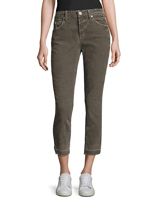 AMO | Mid-Rise Ankle-Length Jeans | Goxip