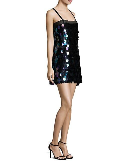 Paillette Mini Dress