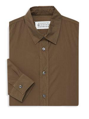 Maison Margiela Cottons CLASSIC COTTON DRESS SHIRT