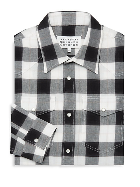 Lumberjack Checkered Dress Shirt