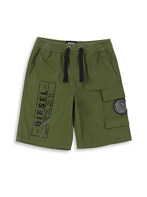 Boy's Logo Stamp Shorts