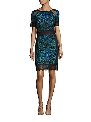 Leopard-Print Bodycon Dress