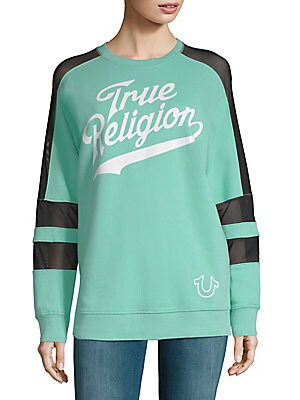Graphic Long-Sleeve Pullover