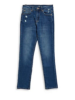 7 For All Mankind - Boy's Paxtyn Distressed Jeans