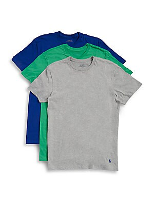 Three-Pack Classic Fit Tees