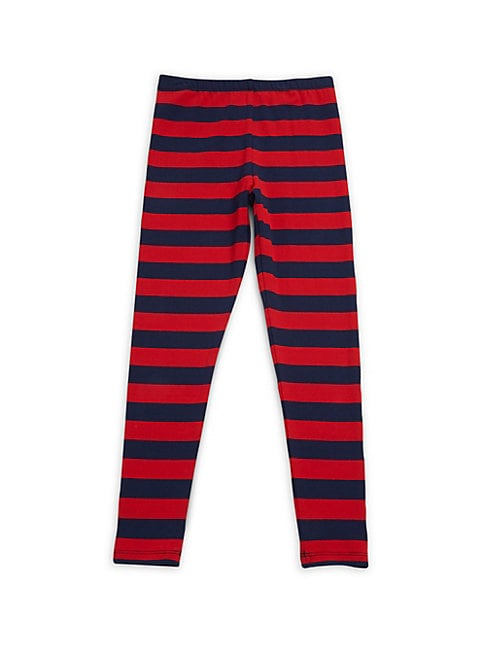 Baby Girl's, Little Girl's & Girl's Block Stripe Leggings
