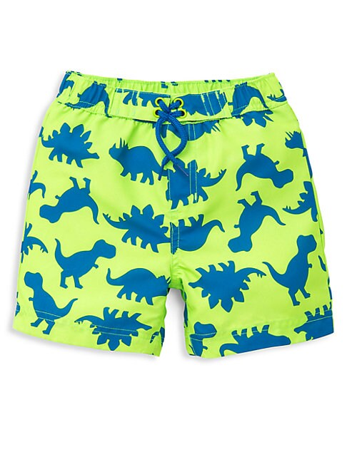 Baby Boys' Dino-Printed Swim Trunks