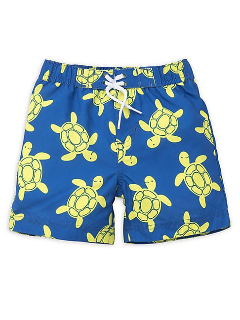 Baby Boy's Turtle Swim Trunks