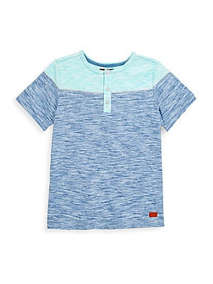 Boy's Colorblock Henley