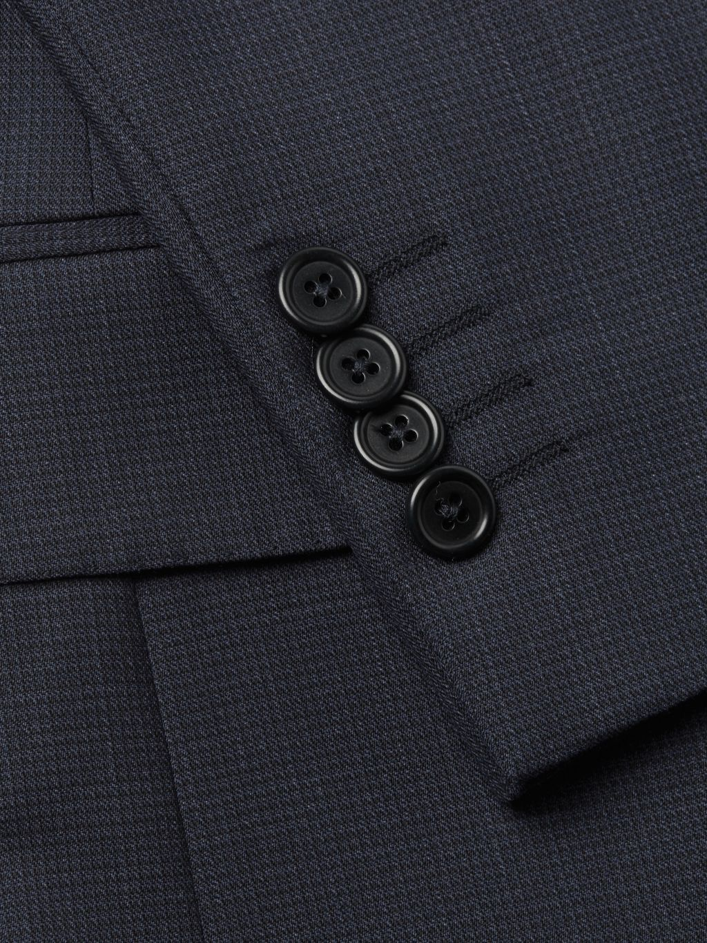Saks Fifth Avenue Made in Italy Classic-Fit Wool Suit