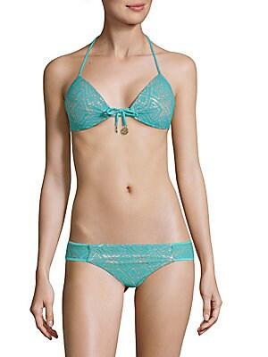 Self-Tie Bikini Top