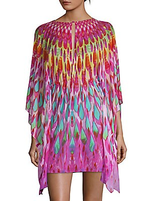 Multicolored Short Caftan