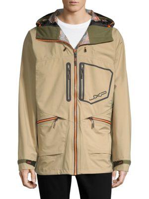 JXP JEEP XTREME PERFORMANCE Hard Shell Jacket in Khaki
