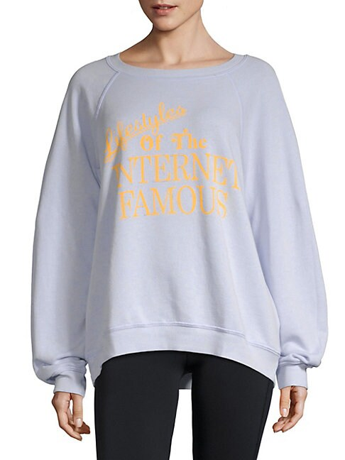 Graphic Long-Sleeve Sweater