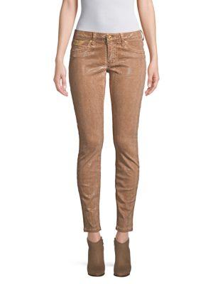 Robin's Jean Metallic Skinny Jeans