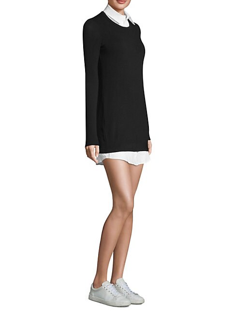 Cher Layered Sweater Dress