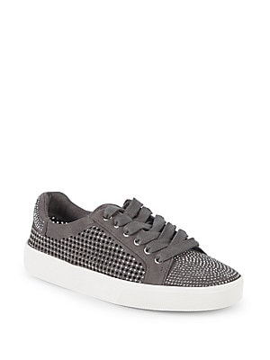 Chenta Studded Leather Sneakers