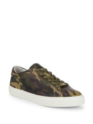 True Religion Sneakers Camo-Print Textile Sneakers
