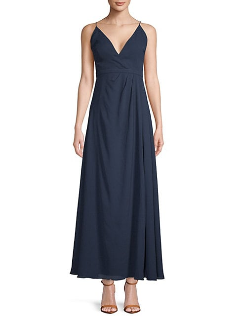 Fame And Partners MIRABELLA WRAP GOWN