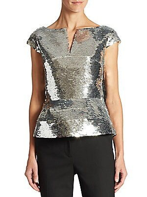 Sequin Embellished Top