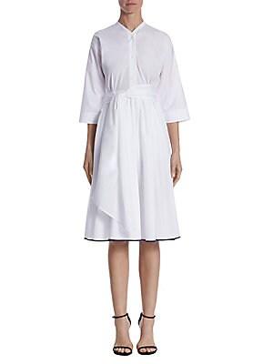 Dolman-Sleeve Dress