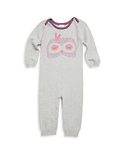 Egg by Susan Lazar - Baby Girl's Leaf Lake Critter Cotton Coverall