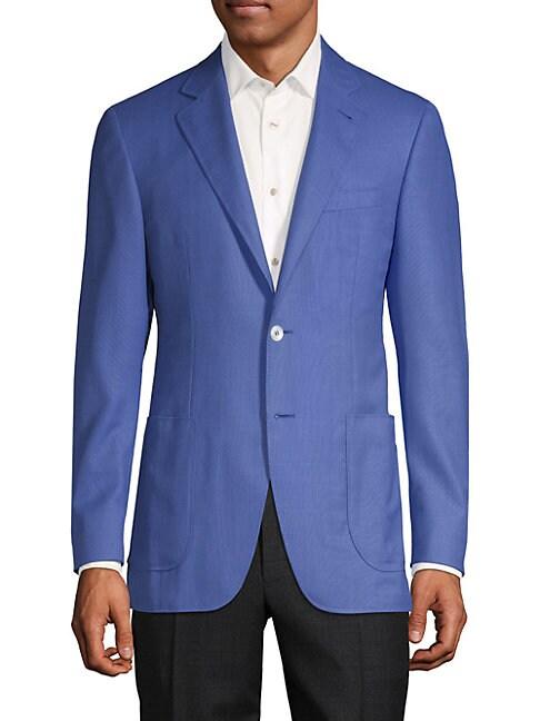Notch Lapel Wool Sportcoat