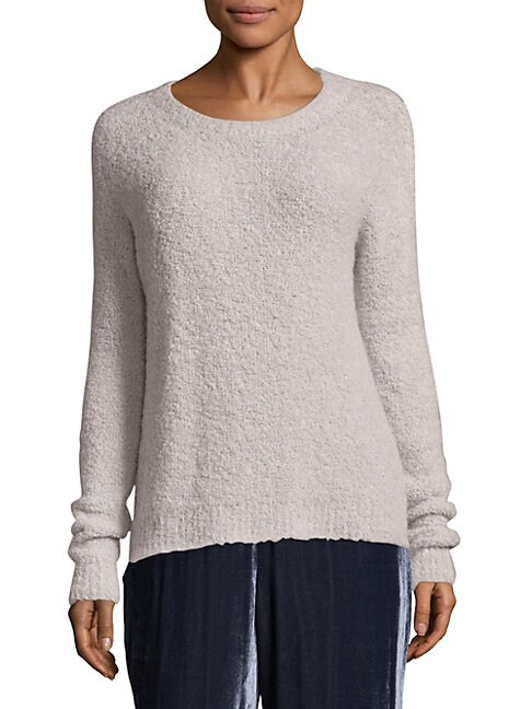 BOUCLE ROUNDNECK SWEATER