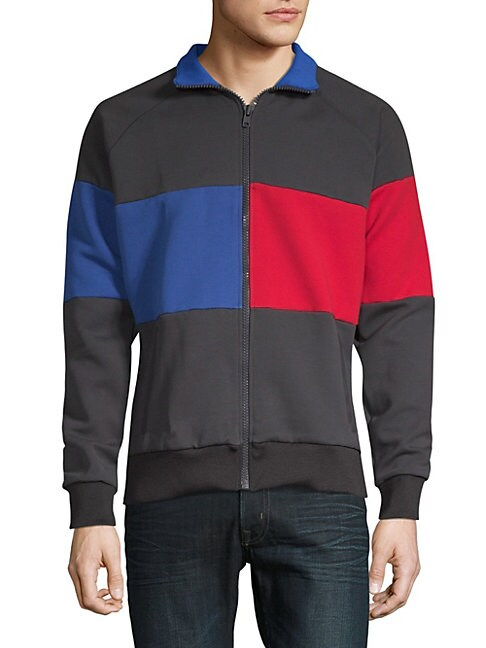 Colorblock Tracksuit Jacket