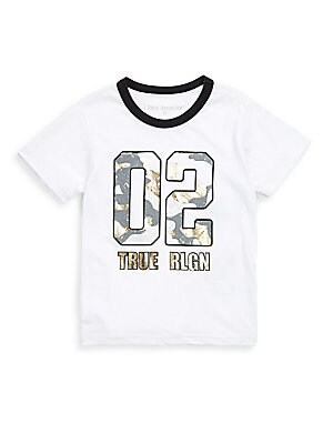 Little Boys Cotton Camo Tee