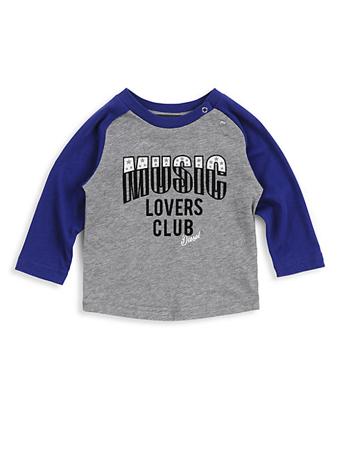 Baby Boy's Music Lovers Club Cotton Tee