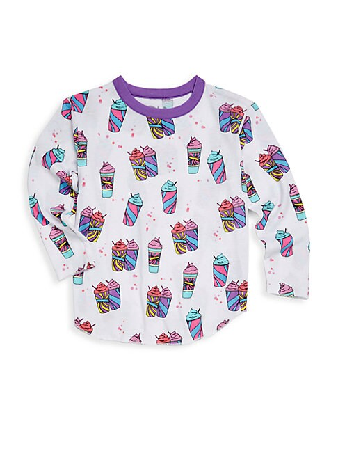 Little Girl's Printed Long-Sleeve Tee